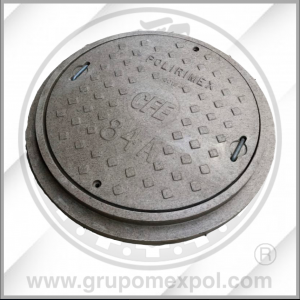 Aro y tapa CFE 84A- Concreto Polimerico