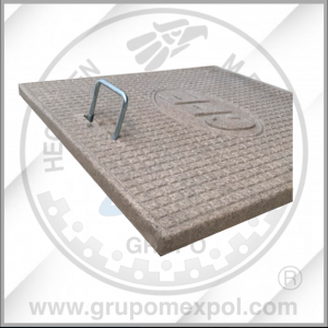 Tapa CFE- Concreto Polimerico