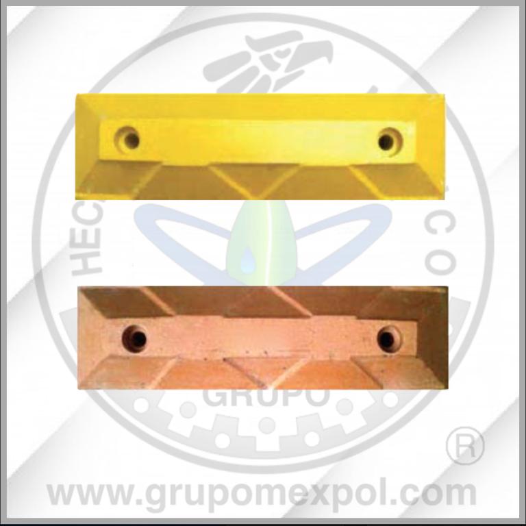 Tope ciclovial- Concreto Polimerico